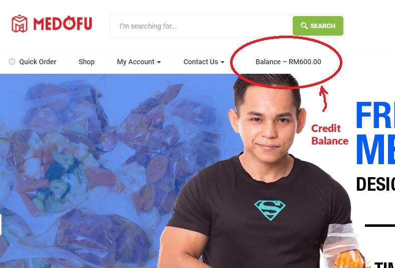 Store Credit & Pakej Bulanan Update